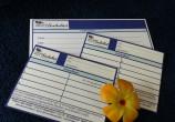 cadeaubonnen, stempel- en kortingskaarten